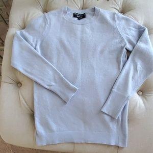 Banana Republic baby blue wool sweater